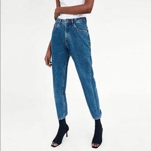 Zara NWT Classic Mom Jeans